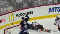 Massive Beleskey hit leads to Ducks goal