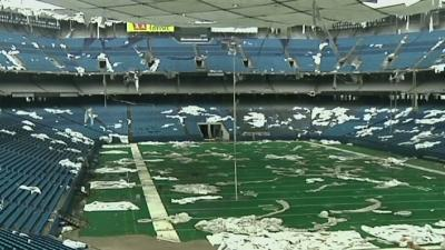 Pontiac Silverdome's Assets Up for Sale