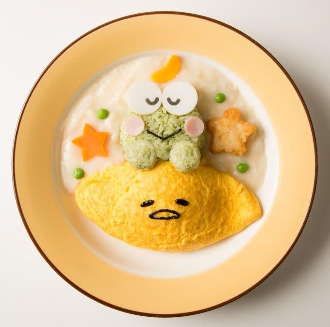 蛋黃哥大眼蛙咖啡