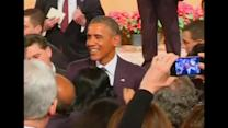 Obama wraps up India visit with town hall speech