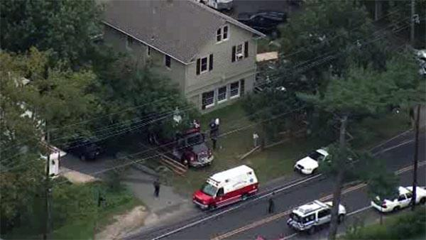 Contractor injured in partial wall collapse in Burlington County, N.J.