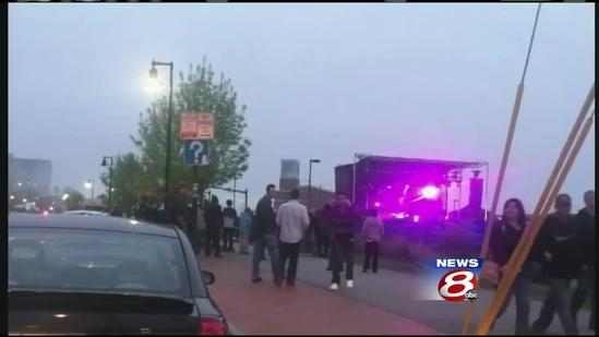 Portland waterfront concert gets mixed reaction