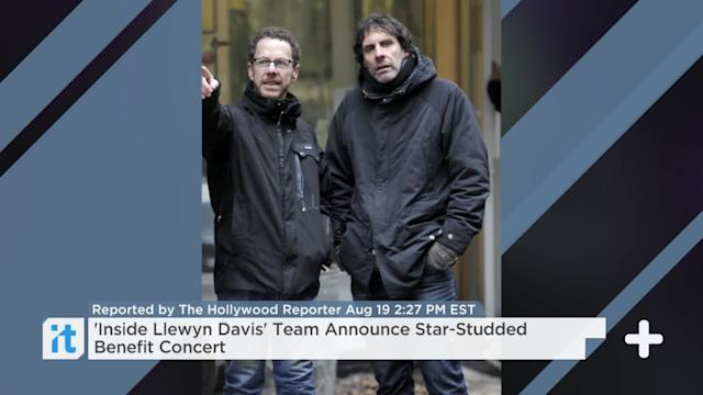 'Inside Llewyn Davis' Team Announce Star-Studded Benefit Concert