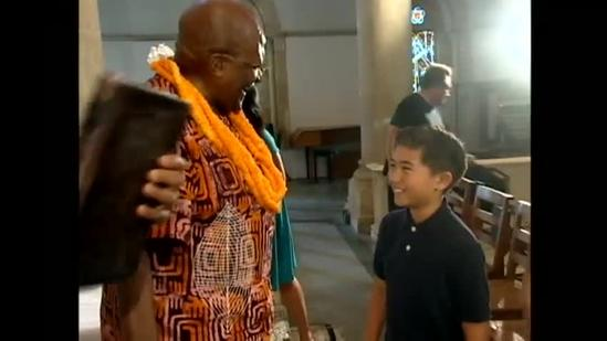 Archbishop Desmond Tutu visits Hawaii