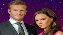 The Beckhams Get Updated Wax Figures