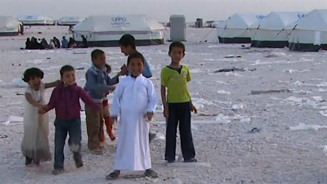 Refugee camp in Jordan now the country's fourth largest city