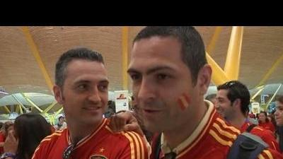 Spain fans psyched for Euro 2012 final
