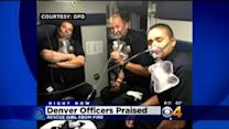 Denver Police Officers Praised For Saving Child From House Fire
