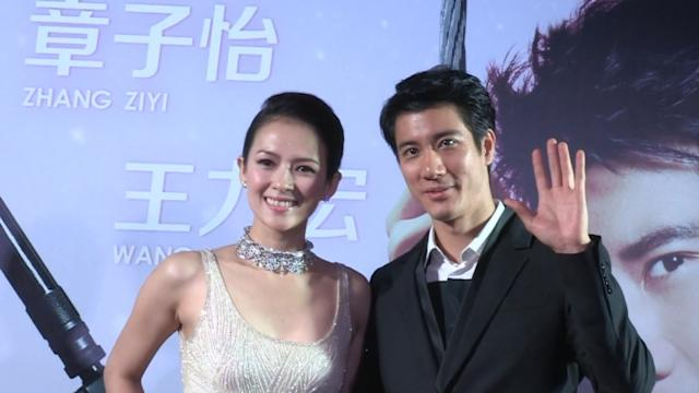 Wang Lee Hom and Zhang Ziyi dazzle in 'My Lucky Star' premiere in Singapore