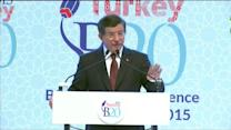 Turkish calls for Syria safe-zone went unheard: Davutoglu