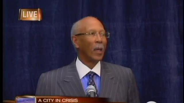 Mayor Dave Bing on city's financial crisis