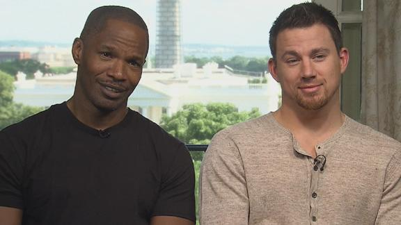 Jamie Foxx and Channing Tatum: What Does 'Channing All Over Your Tatum' Mean?