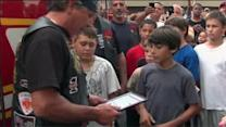 Boys honored for helping during Levittown fire
