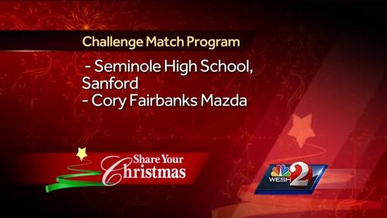Seminole High School raises 2,500 cans, food for Share Your Christmas