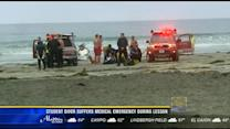 Student diver suffers medical emergency during lesson