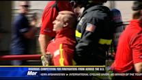 Rigorous competition for firefighters from across the U.S.