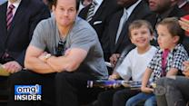 Mark Wahlberg and Sons Sport Matching Sneakers