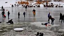 Wrightwood lake rescue attempt goes wrong