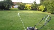 Lazy Way to Cut the Grass!