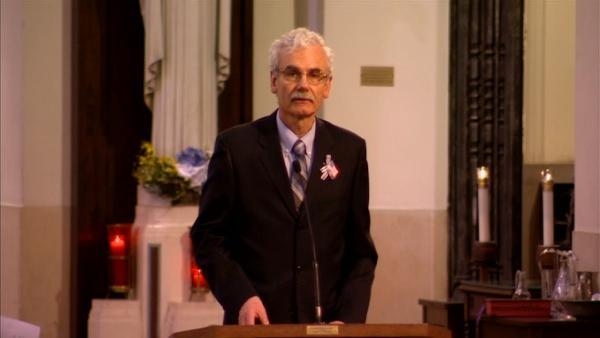 Funeral for Anne Smedinghoff: Dad gives eulogy