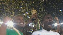 Celebrations after Nigeria's win