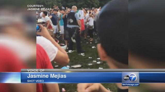 Charges filed for 2 officers hurt in fight at Montrose Beach, charges pending against others
