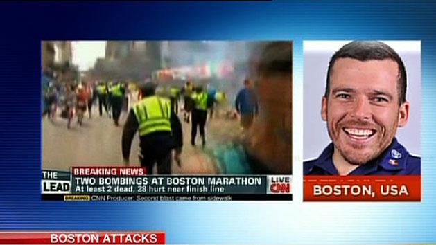 Australian athletes describe Boston horror