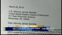 Rally for Derek Williams to be held Friday