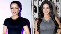 Sunny Leone reacts on being thrown out of Celina's house