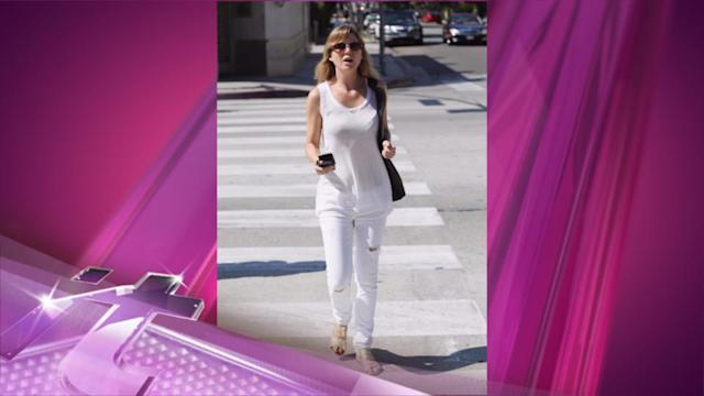 Entertainment News Pop: Ellen Pompeo's Figure On Full Display In All-White Outfit