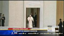Pope to resign Feb. 28, says he's too infirm