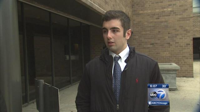 DePaul student Erik Kawar charged with assaulting paramedic