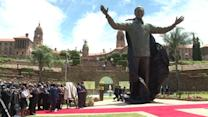 Mandela statue unveiled on Reconciliation Day