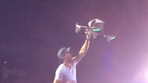 Enrique Iglesias Is Injured by Drone During Concert
