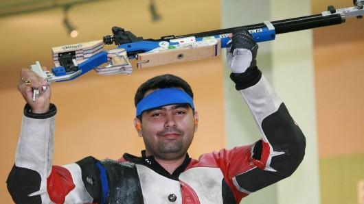 Gagan Narang shots at bronze medal in Olympics