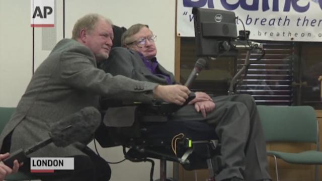 Hawking: 'Ventilator Not Curbed My Lifestyle'