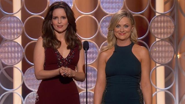 Golden Globes Shine With Hosts' Opening