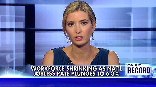 Ivanka Trump on the meaning of the new unemployment numbers