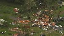 Raw: Severe Weather Causes Major Georgia Damage