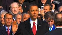 Obama to take private oath in brief family service