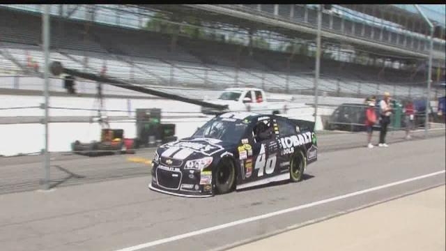 Trackside 6: Getting ready for the Brickyard 400