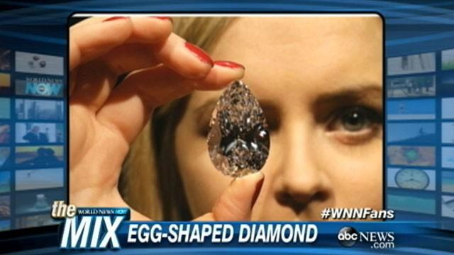 Egg-Shaped Diamond Cracks the Competition