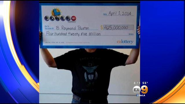 California's $425M Powerball Winner Comes Forward