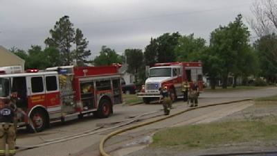 Metro Storage Units Catch Fire