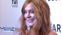 Lindsay Lohan Leaves Rehab With a Big Smile