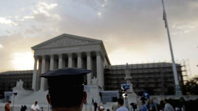 Raw Video: Mixed reaction to SCOTUS ruling