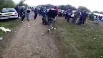 Cyclists Disturb a Lively Rave in the Park