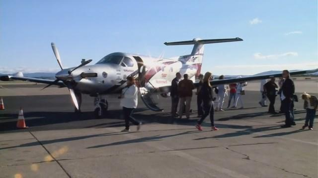 Amelia Earhart's Round-The-World Flight Finished At Last By Another Amelia Earhart