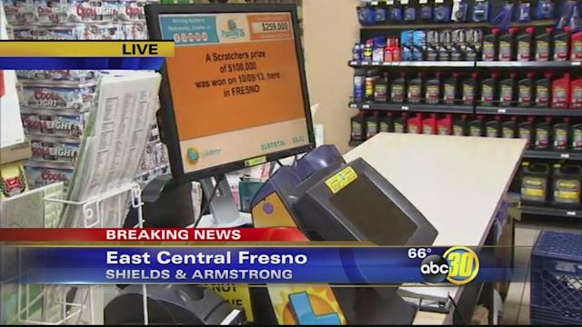 Winning Powerball ticket for over $200 million sold in Fresno