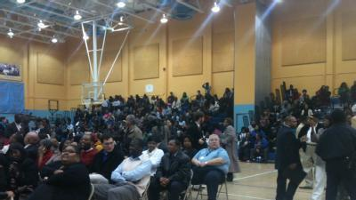 Raw Video: SUNO Students, Faculty Chant At Rally